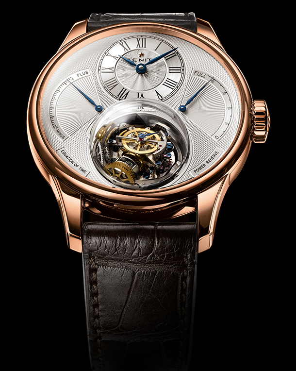 [7] Zenith Christophe Colomb Equation Rose Gold
